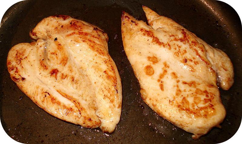 Supr me de poulet la normande - Cuisson blanc de poulet au four ...