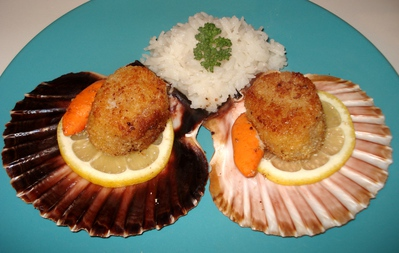 Coquilles Saint-Jacques Pan�es