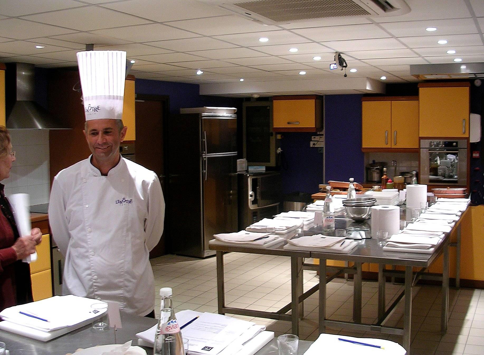 Ecole len tre - Cours de cuisine lenotre ...