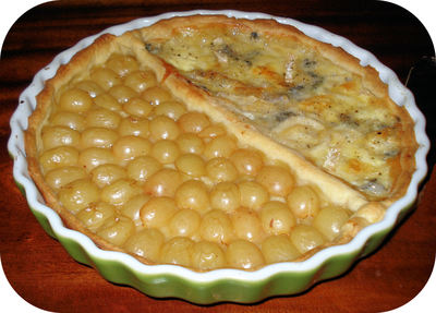 DUO   Tarte  Fromages / Raisins