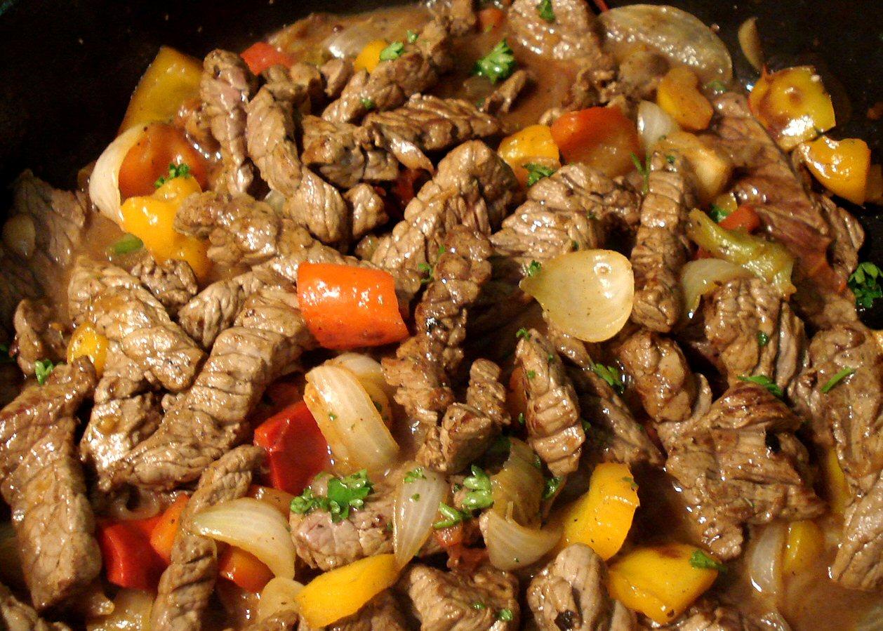 Eminc de boeuf l 39 espagnole - Quelle friteuse pour graisse de boeuf ...