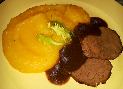 Filet de Chevreuil et Butternut -- 22/02/15