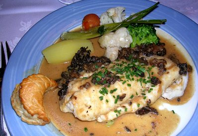Filet de Turbot aux Morilles -- 11/05/06