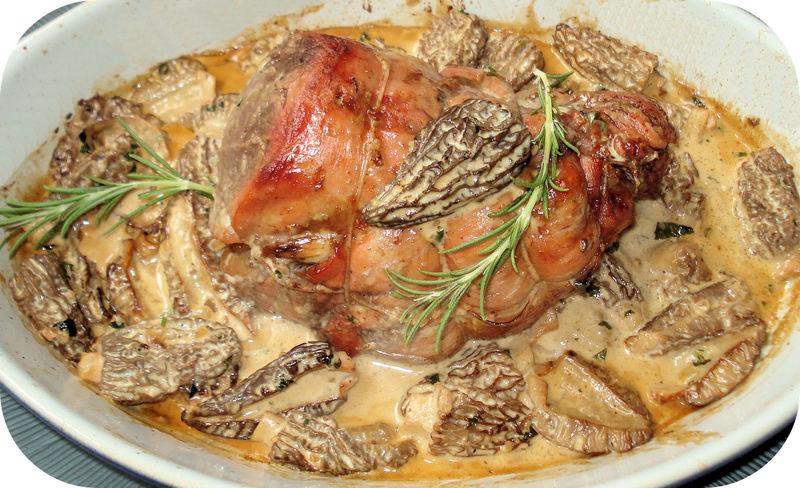 Filet de veau aux morilles - Cuisson filet de boeuf au four chaleur tournante ...