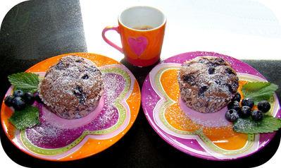 Muffins au chocolat et myrtilles Gina_Muffins_Choco_Myrtilles_t