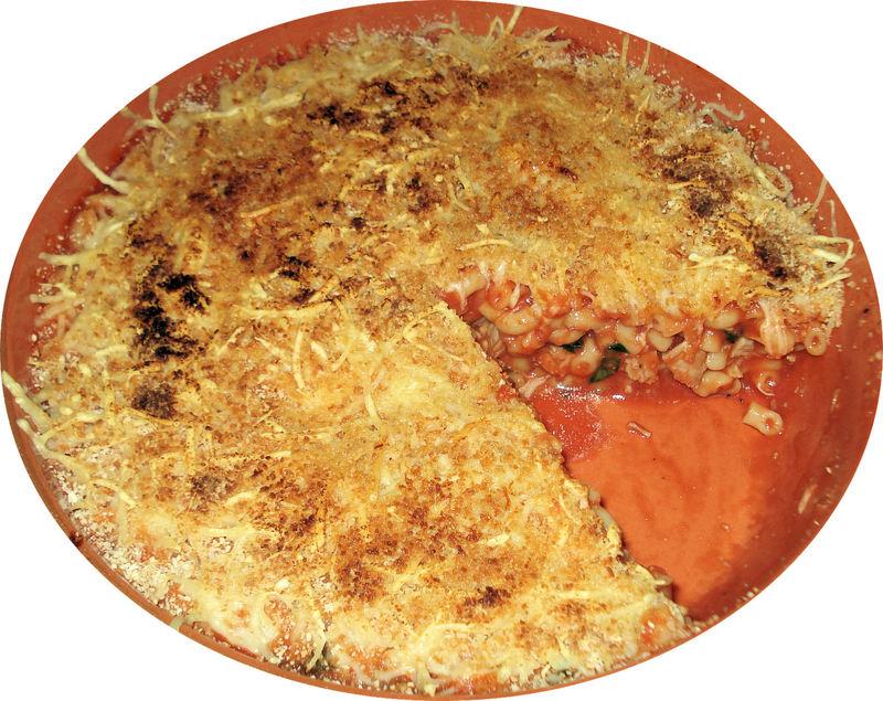 gratin de p 226 tes au thon frais et tomate