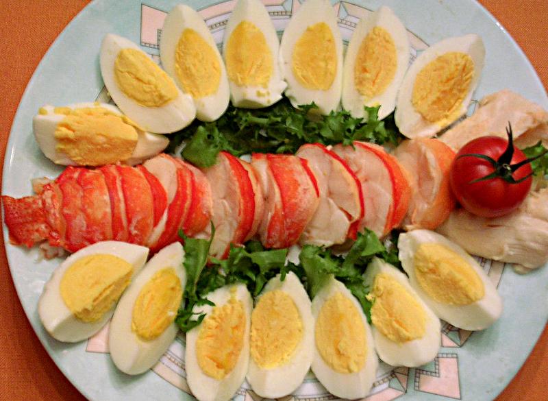Langouste Mayonnaise