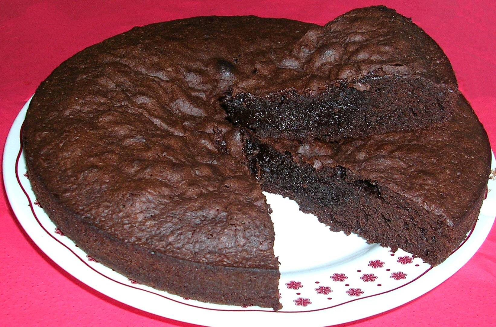 Gateau au chocolat fondant pour 12 personnes