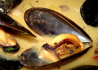 Moules au Curry -- 17/11/10