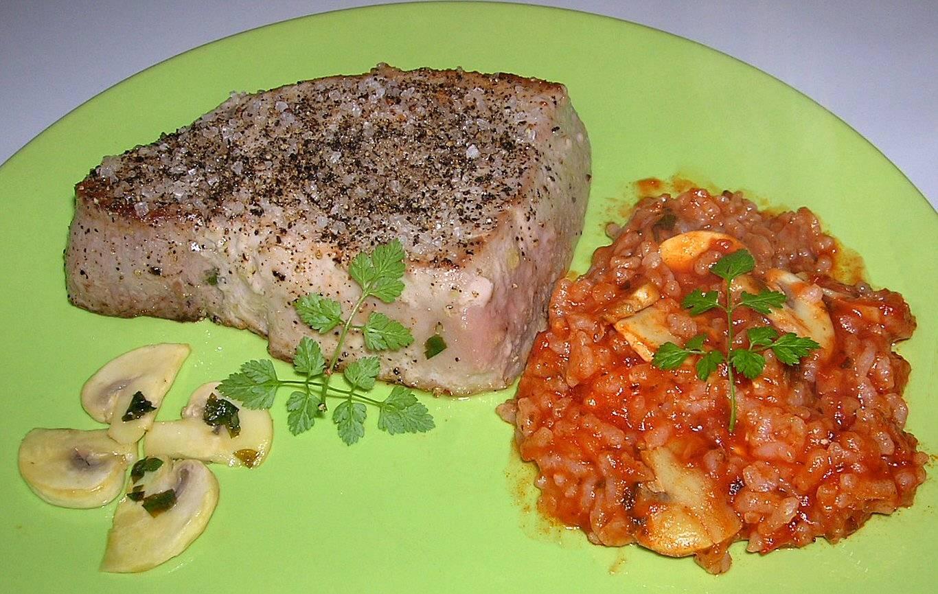 Pavé De Thon Au Poivre - Cuisiner du thon