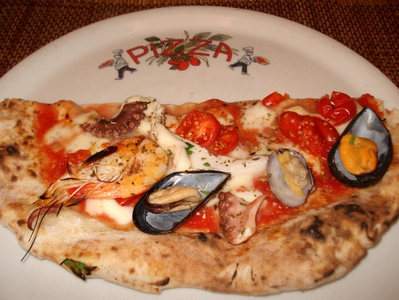 Pizza aux fruits de Mer -- 27/02/11