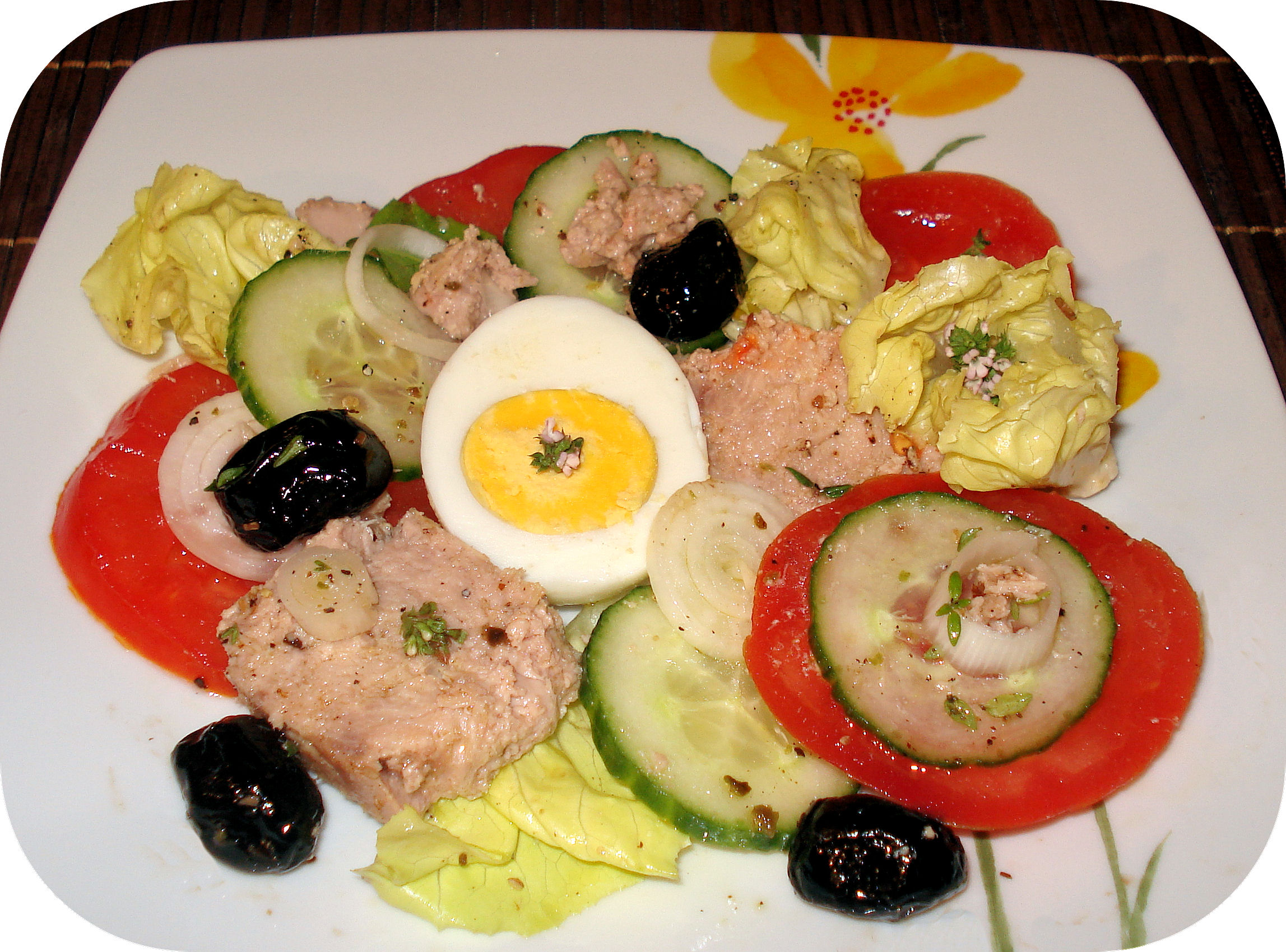 Recette Salade Nicoise Related Keywords & Suggestions - Recette Salade ...