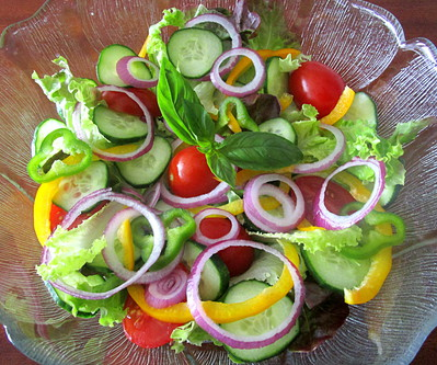 Salade compos�e � la mode am�ricaine