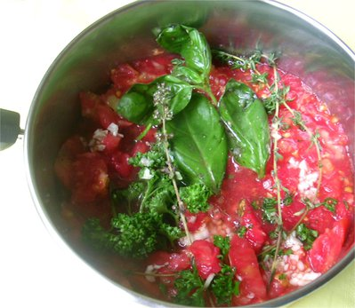 Sauce Tomate fra�che