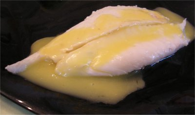 Saint-Pierre à la Sauce hollandaise -- 03/04/05