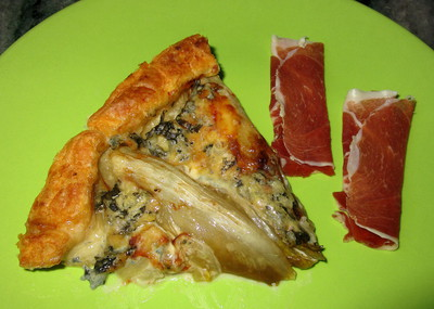 Tarte d'Endives � la Fourme d'Ambert -- 05/12/15