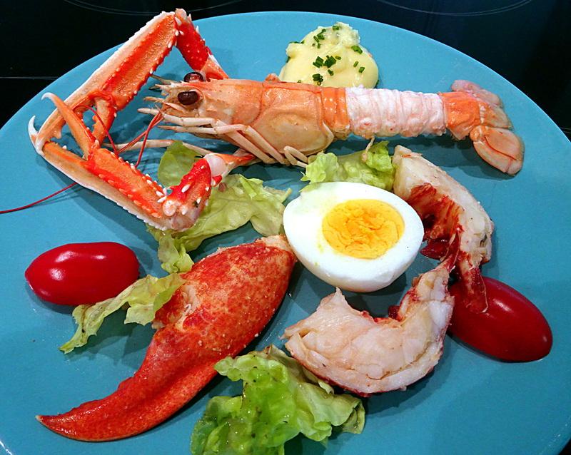 Homard et Langoustines mayonnaise