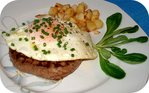 Oeuf � Cheval sur Steak hach� -- 16/07/07